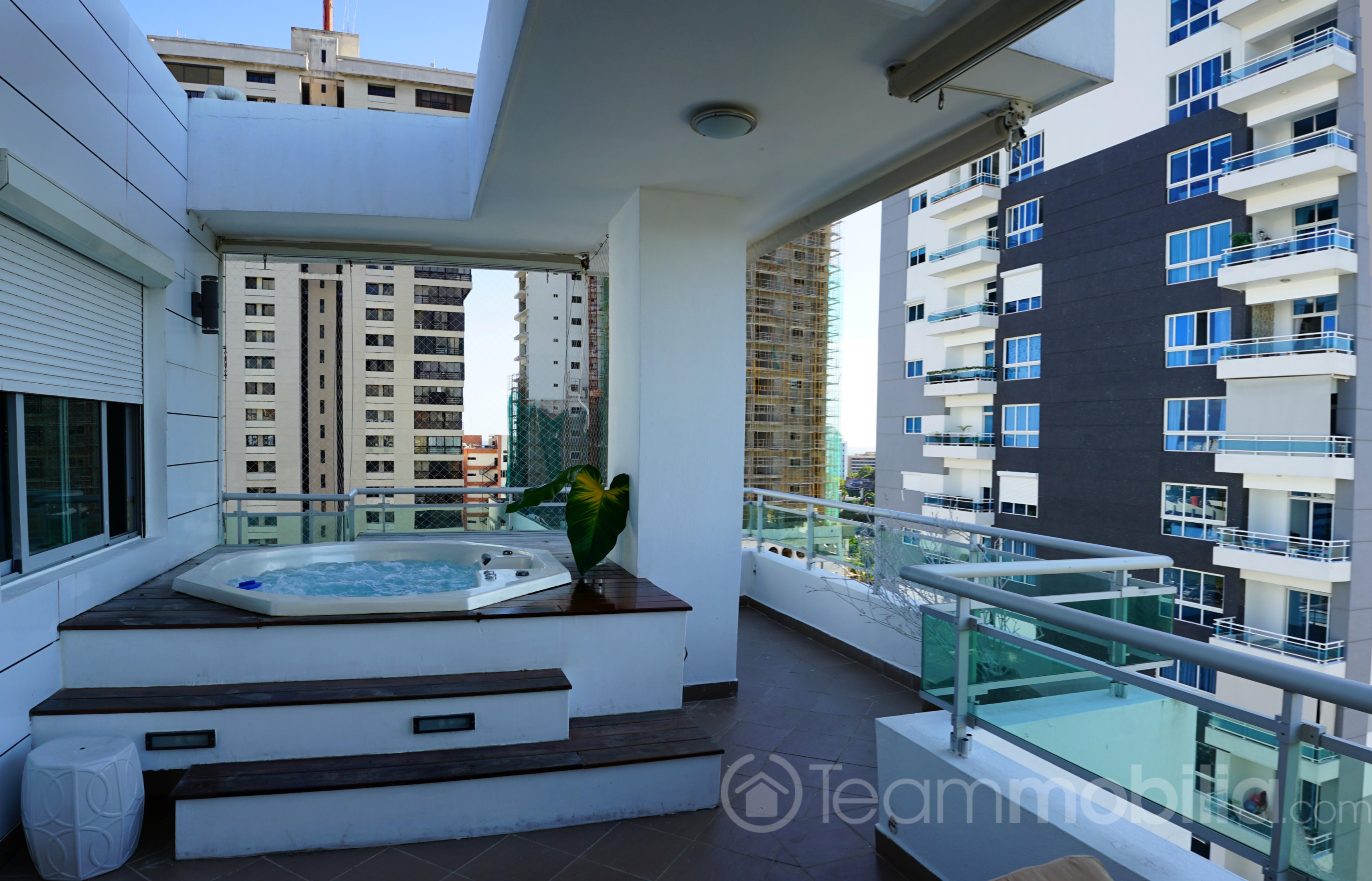 Penthouse en Alquiler Amueblado